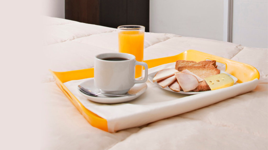 Foto de servicio de comida del Flamante Hotel