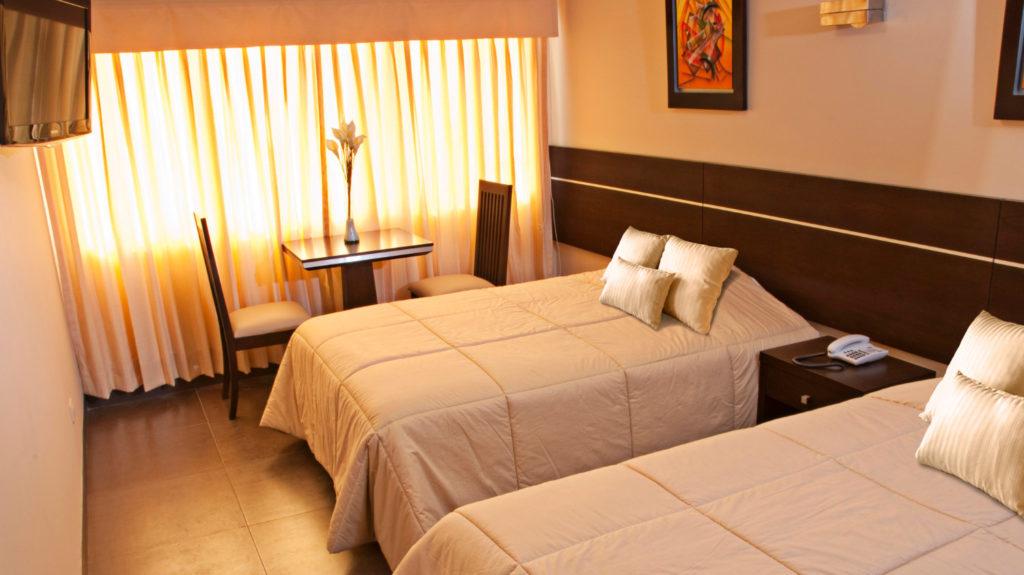 Habitación Doble del hotel Flamante