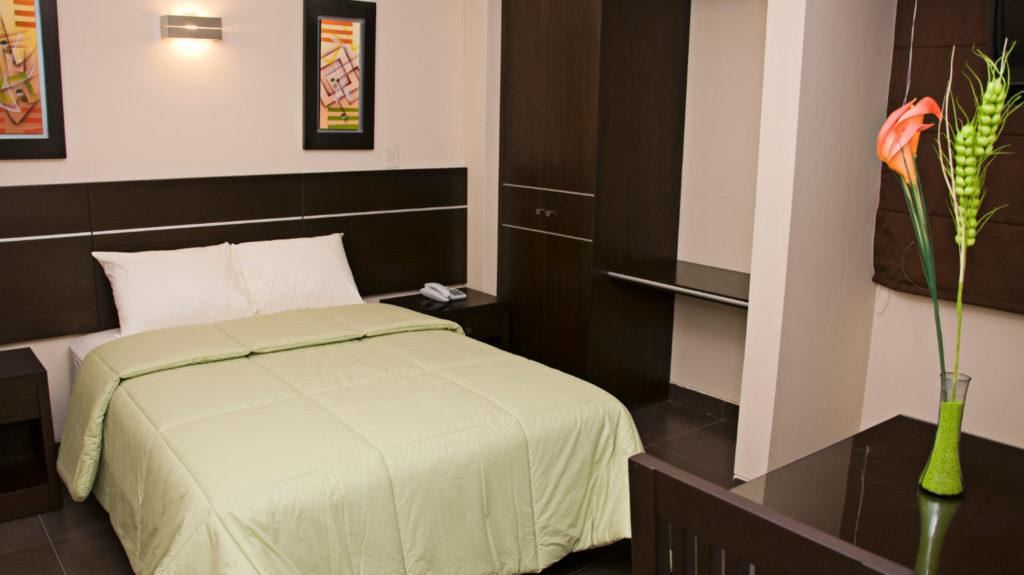 Habitación Matrimonial Estándar del hotel Flamante