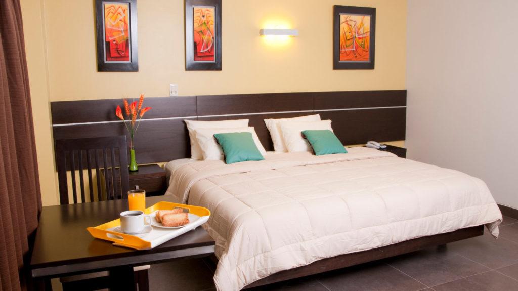 Habitación Suite del hotel Flamante